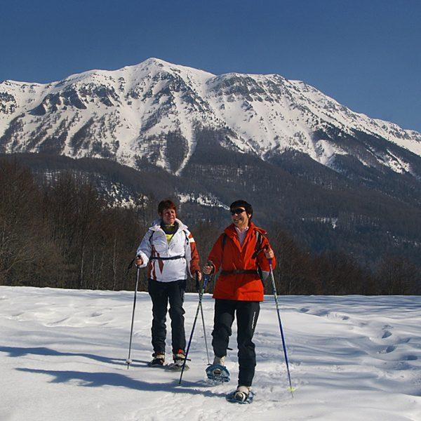 randonnées raquette montclar les 2 vallées alpes de haute provence