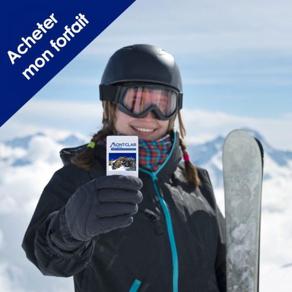 acheter forfait de ski montclar les 2 vallées alpes de haute provence