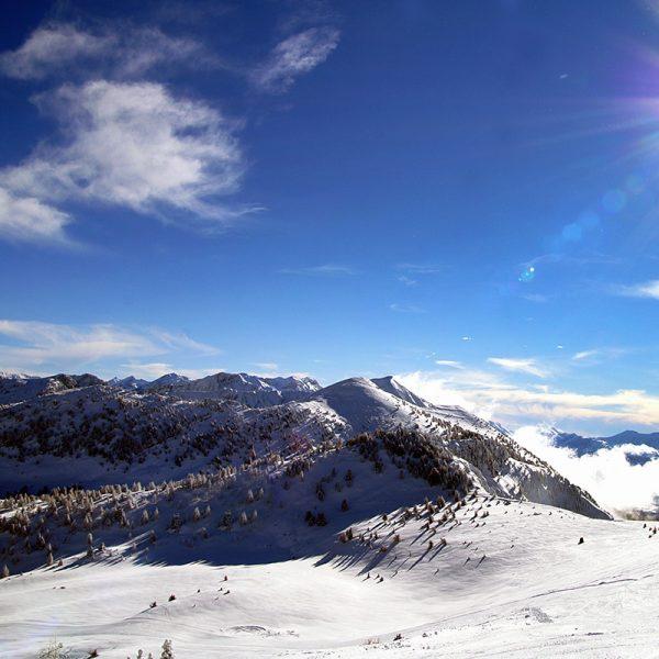 domaine skiable montclar les 2 vallées