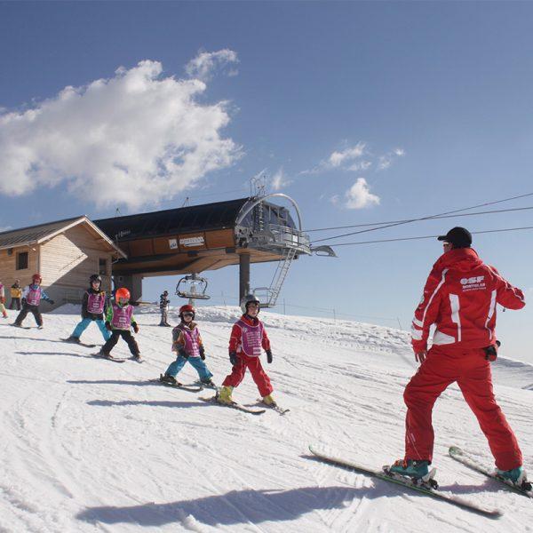 ESF montclar les 2 vallées alpes de haute provence