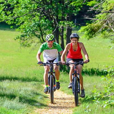 itinéraires FFCT balade à vélo séjour été montclar