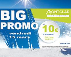 forfait de ski pas cher station Montclar