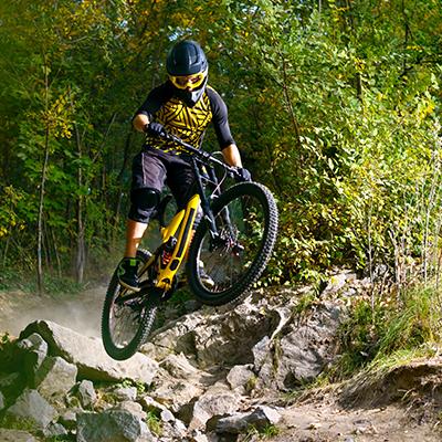bike park vtt montclar montagne