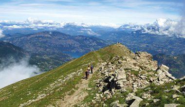 Rando'dormillouse Montclar les 2 vallées Alpes de haute provence
