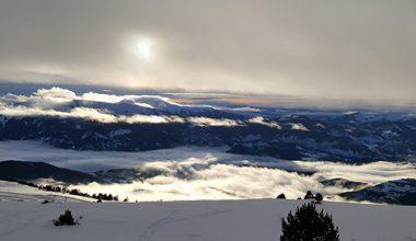 ski pistes nocturnes station alpes du sud montclar