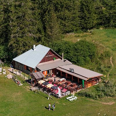restaurant montagne montclar station village alpes haute provence