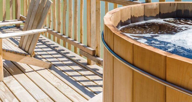 Les bains des bois