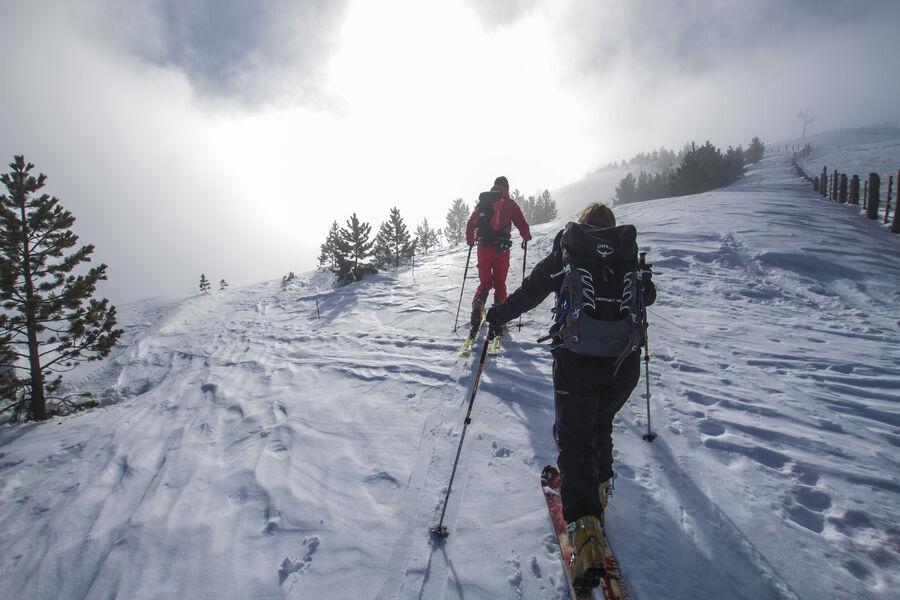 Initiation Ski de randonnée à Montclar