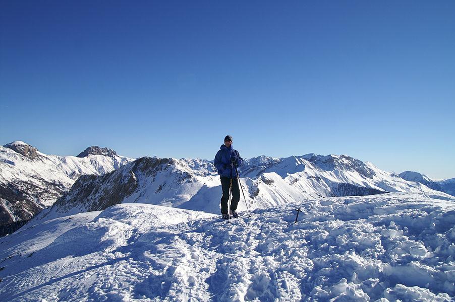 Ski de randonnée à Montclar
