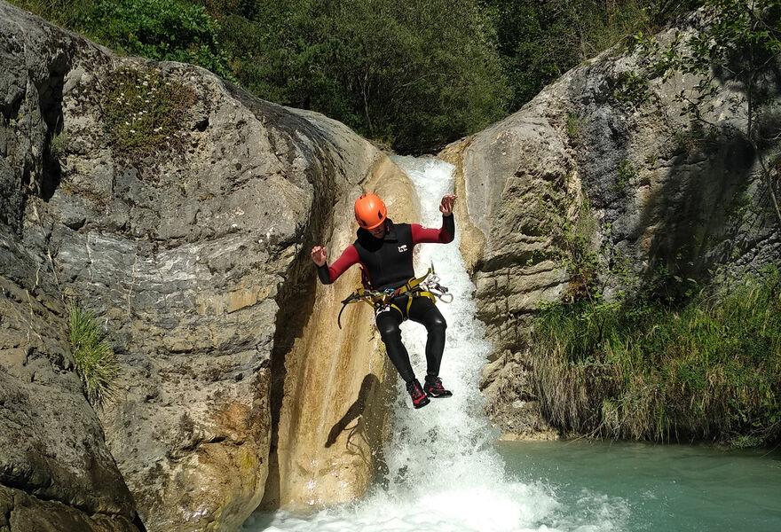 Vertical Ubaye : canyoning